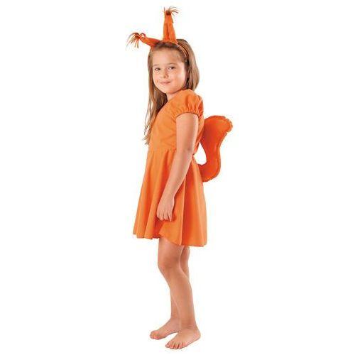 Strój wiewiórka sukienka 98/104 marki Gama ewa kraszek