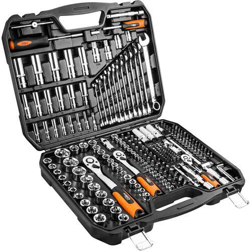 "NEO Tools 08-671 1/2"", 3/8"", 1/4"" 219 szt. - produkt w magazynie - szybka wysyłka!"