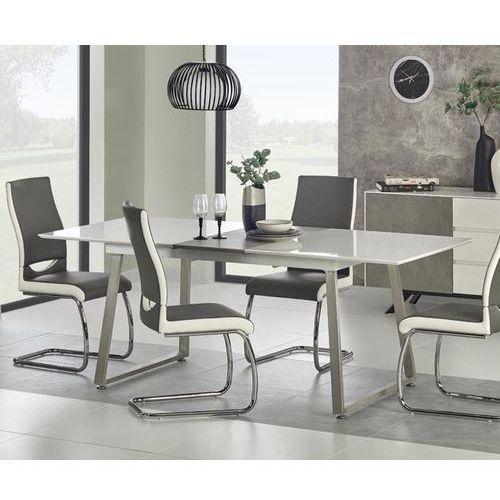Stół Thomas z prostokątnym lakierowanym blatem