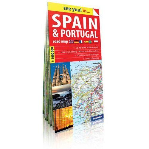 Hiszpania i Portugalia see you! inn papierowa mapa samochodowa 1:1 mln - OKAZJE