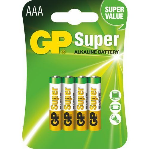 Bateria GP BATTERY Ultra Alkaline LR03/AAA (4 szt.)