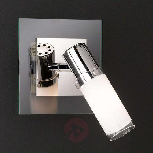 Reflektor ścienny marco ze szklanym kloszem marki Wofi