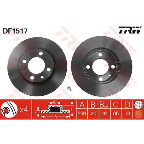 TARCZA HAM TRW DF1517 SEAT IBIZA III 1.0, 1.4, 1.6, 1.9SDI, 1.9TDI 99-02/ VW GOLF III 1.9SDI 95-97
