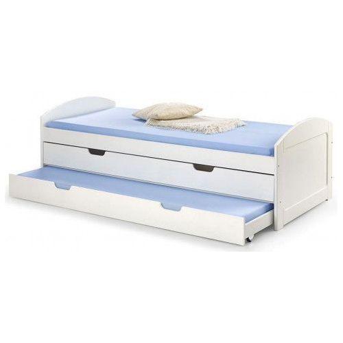 Łóżko dwuosobowe Alvin 90x200 - białe, V-PL-LAGUNA_2-ŁÓŻKO