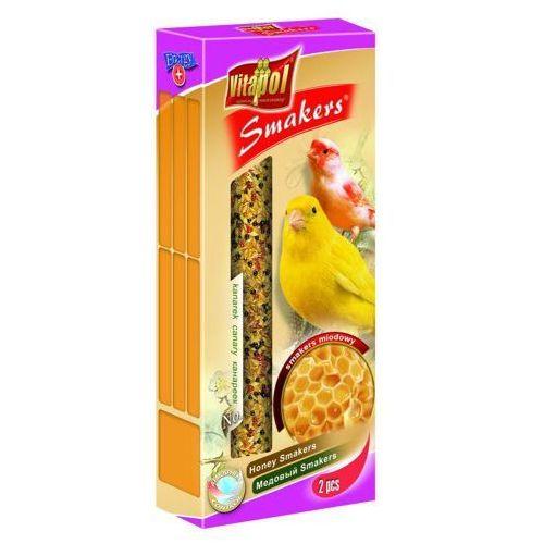 Vitapol Smakers miodowy kolby dla kanarka 2szt/90g