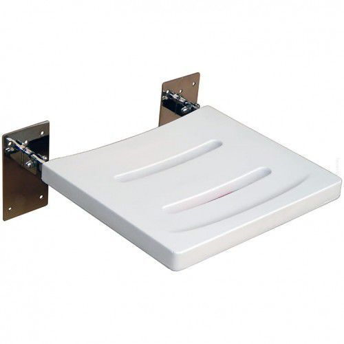 Siedzisko prysznicowe uchylne z platformą z poliuretanu marki Faneco