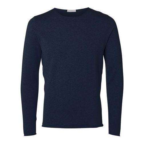 Klasyczny sweter z bawełny marki Selected