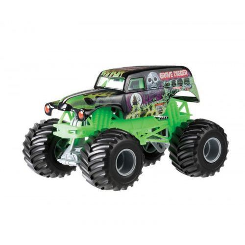Hot wheels monster jam - auto off-road grave digger od producenta Mattel