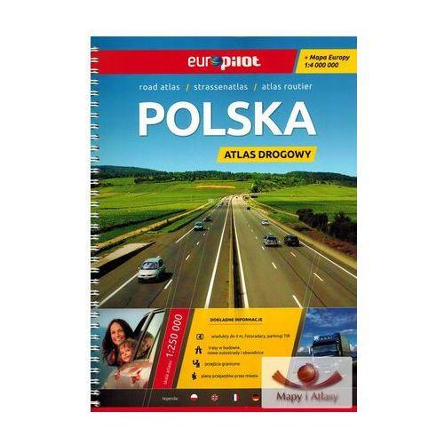 Polska 1:250 000. Atlas samochodowy, drogowy. Wyd. 2015. Europilot