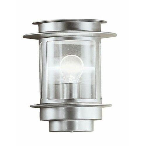EGLO 80761 - Kinkiet zewnętrzny EXIT 1 1xE27/60W srebrny
