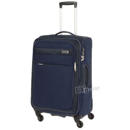 Travelite Style średnia walizka na kółkach 64 cm / granatowa - granatowy (4027002040243)