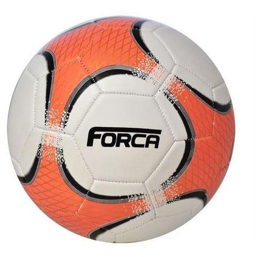 Piłka nożna TRENINGOWA AXER FORCA ORANGE/WHITE - Biały ||Pomarańczowy