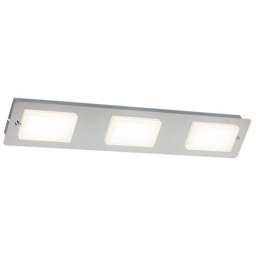 Plafon lampa sufitowa Rabalux Ruben 3x4,5W LED IP44 chrom 5724