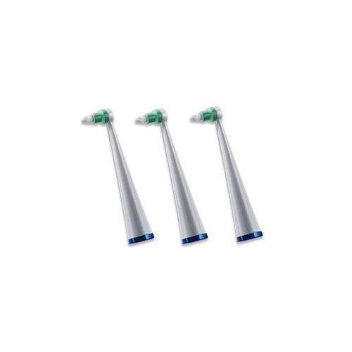 3 końcówki do przestrzeni międzyzębowych do szczoteczki sonicznej Waterpik
