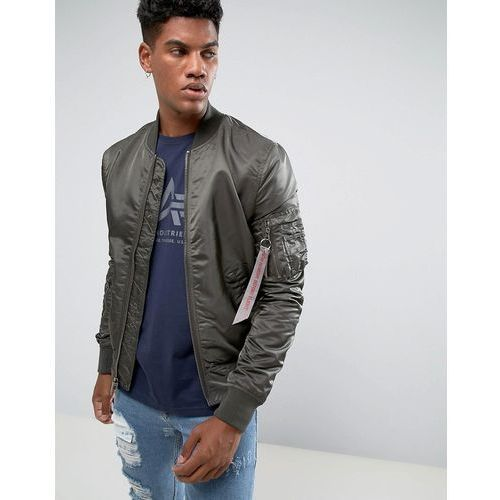 ma-1 vf reverse 2 bomber jacket in rep grey/camo - grey marki Alpha industries