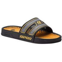 Rider Klapki - r89 ad 11314 black/yellow 24406