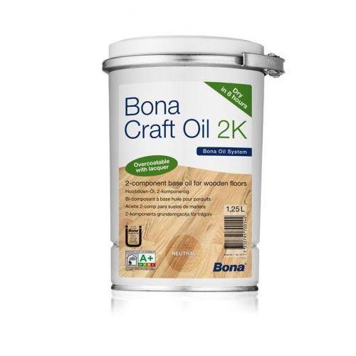 Bona craft oil 2k - piaskowy 1,25 l