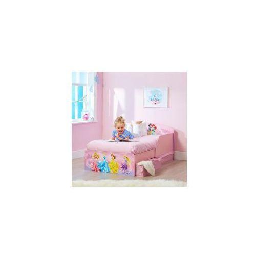 Łóżko 140x70 z szufladami KSIĘŻNICZKI DISNEY PRINCESS II, LOPRN13