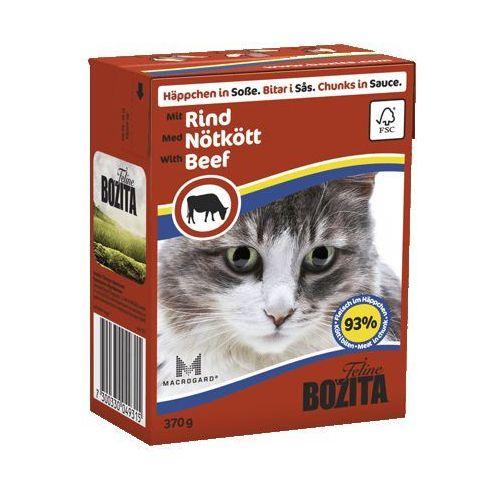 Bozita wołowina w sosie dla kota (rind) 370g