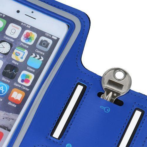 GreenGo Pokrowiec na ramię Premium XXXXL (G900 Galaxy S5) niebieski - GSM005067 Darmowy odbiór w 21 miastach! (5900495287915)