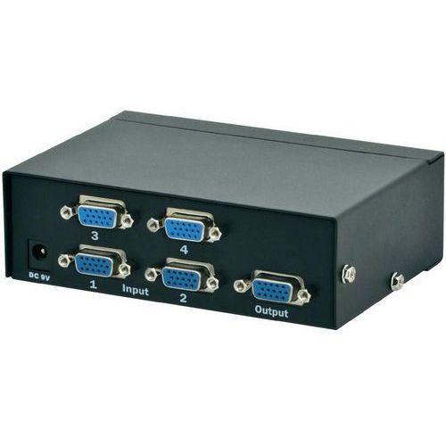 Digitus DS-45100-1, 4x VGA, 1920x1080 Darmowy odbiór w 20 miastach!