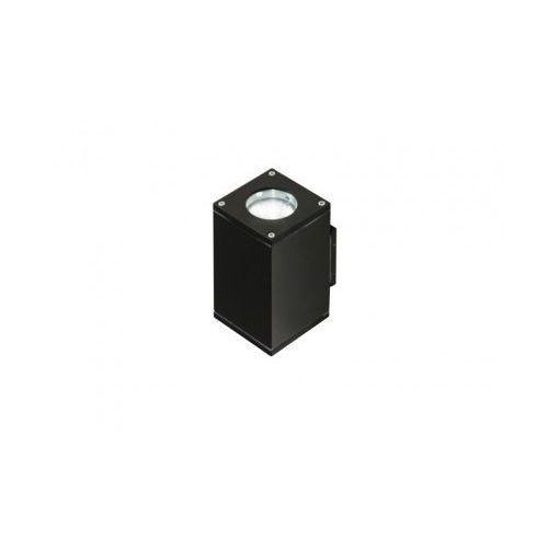 Azzardo Livio 2 GM1101-2 Kinkiet lampa ścienna oprawa zewnętrzna 2x50W GU10 IP54 czarny - darmowa wysyłka + żarówka LED za 1 zł GRATIS!, GM1101-2BK