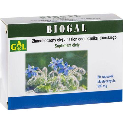 Kaspułki Biogal kaps. 500mg x 60 /ogorecznik