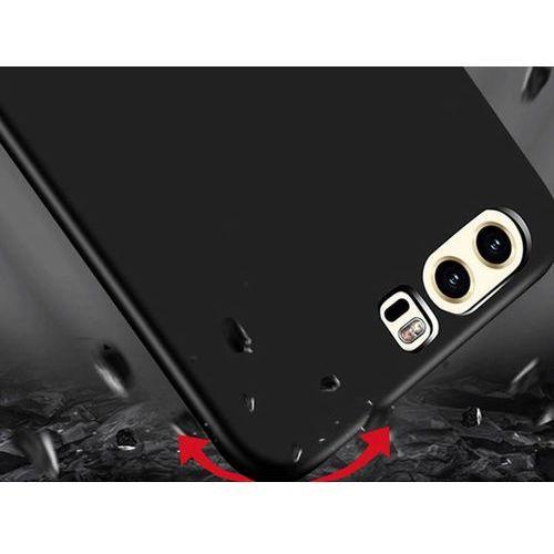 Etui MSVII Thin Case do Huawei P9 czarne + Szkło 9h - Czarny