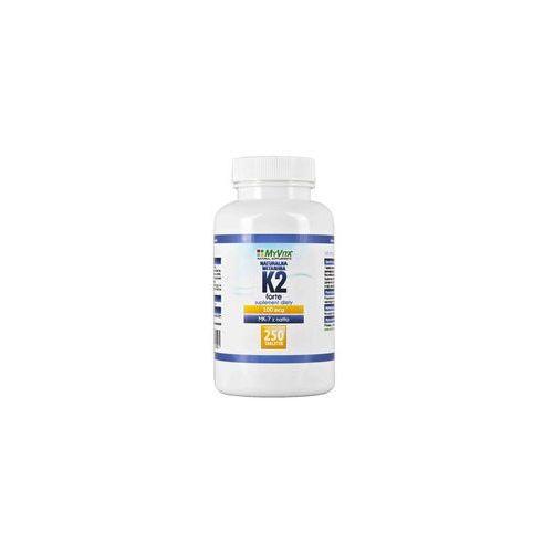 Myvita Naturalna witamina k2 mk-7 100mcg 250 tabletek
