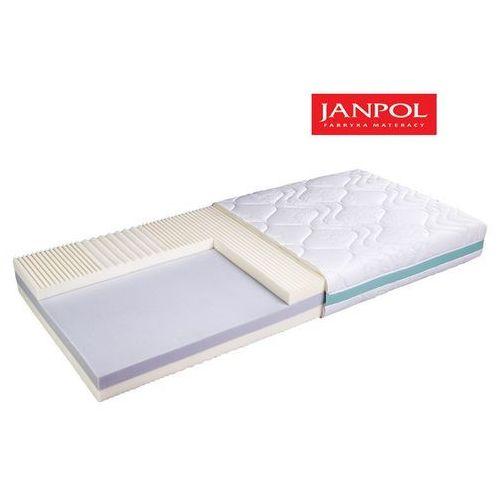Materace janpol Janpol dejmos - materac termoelastyczny, piankowy, rozmiar - 90x200, pokrowiec - jersey standard wyprzedaż, wysyłka gratis (5906267042348)