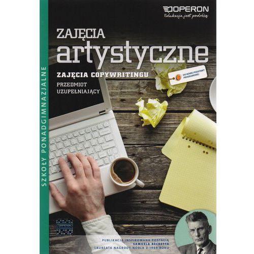 Zajęcia artystyczne. Zajęcia z copywritingu. Podręcznik. Ciekawi świata, Beata Suchecka