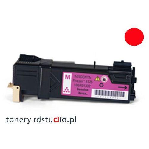 Toner do Xerox Phaser 6125 - Zamiennik Xerox 106R01336 Magenta / Purpurowy