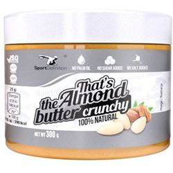 SportDefinition Thats The Almond Butter Crunchy - 300g