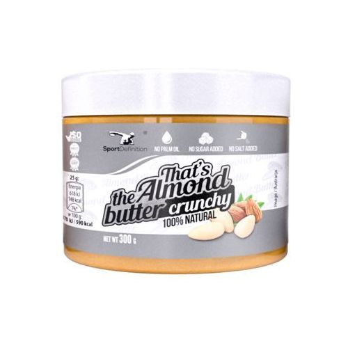 Sportdefinition Sport definition that's the almond butter crunchy - 300g
