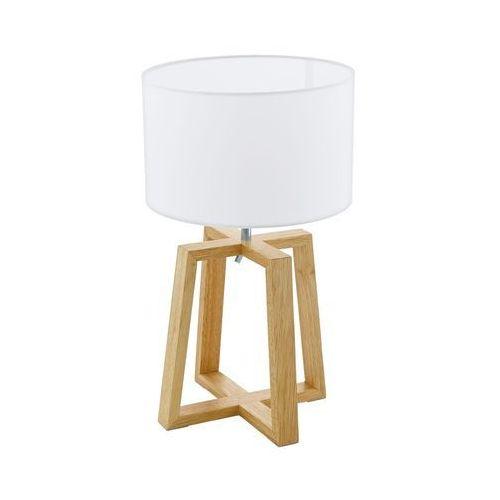 Eglo Lampka chietino 1 97516 stołowa nocna 1x60w e27 biała (9002759975166)