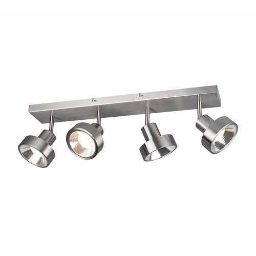 leon 800700407 lampa wisząca zwis 4x35w gu10 niklowa marki Trio