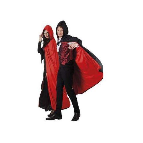 Peleryna Dwustronna Lux 170 Cm Czarno-Czerwona przebranie dla dorosłych - produkt z kategorii- Pozostałe zabawki