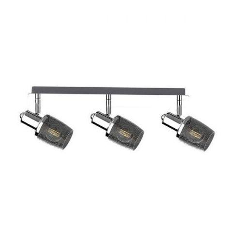 poso ck180612-3 listwa lampa sufitowa spot 3x40w e14 srebrny marki Zuma line