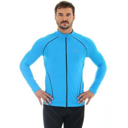 Brubeck ls11060 - męska bluza wiatroszczelna (niebieski)
