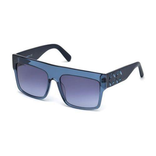 Swarovski Okulary słoneczne sk 0128 90w
