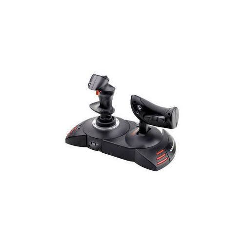 Joystick t flight hotas dla pc, ps3 (2960703) czarny marki Thrustmaster