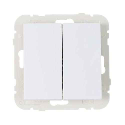 Włącznik schodowy podwójny logus 90 biały marki Efapel