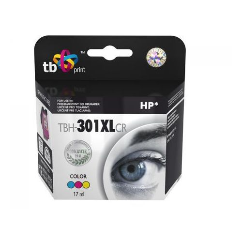 Tb print tusz do hp dj1050/2050 kolor refabrykowany xl tbh-301xlcr (5901500501651)