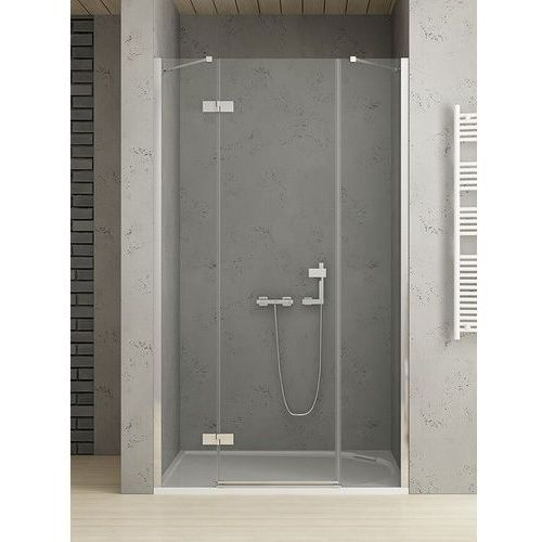 New Trendy Platinium drzwi wnękowe REFLEXA 110 lewe, wys. 200 cm, szkło czyste 6 mm EXK-1284/EXK-0001, EXK-1284/EXK-0001