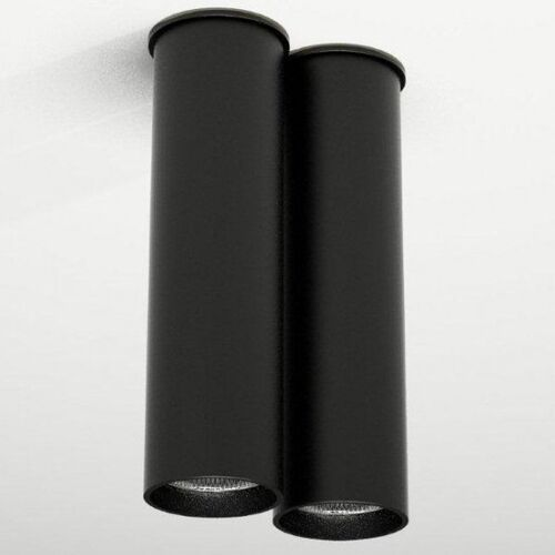 Downlight lampa sufitowa arida 1113 natynkowa oprawa tuby czarne marki Shilo
