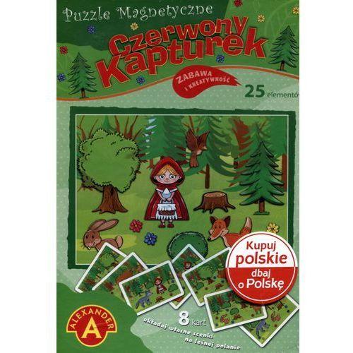 Puzzle magnetyczne czerwony kapturek marki Alexander
