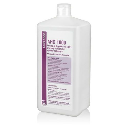 MEDILAB AHD 1000 Pyn do dezynfekcji rąk (ref. 1847) 1 L