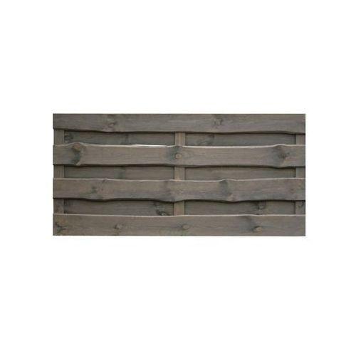 Werth-holz Płot szczelny 180x90 cm drewniany szary nevada
