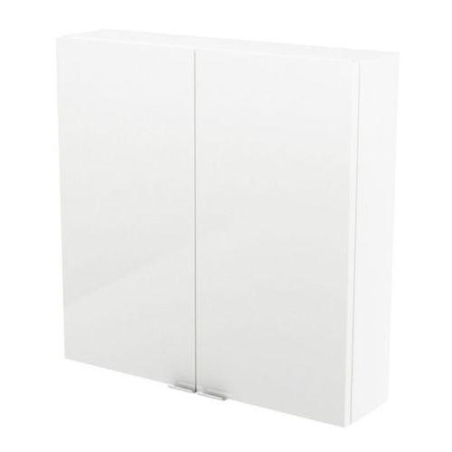 Goodhome Szafka imandra 60 x 60 x 15 cm biała (3663602933632)