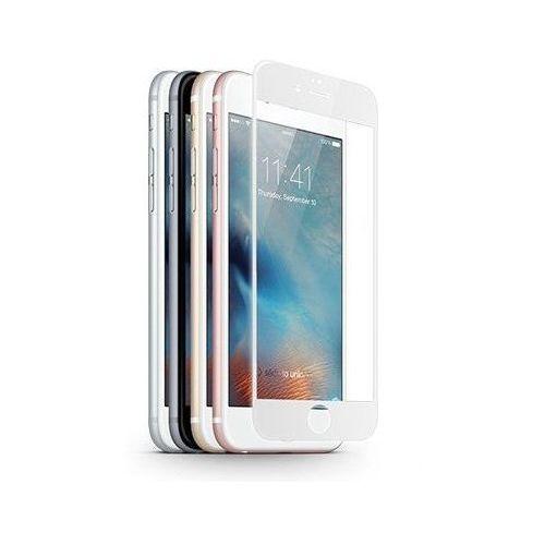 Szkło ochronne z ramką 3D Glass Screen Protector Apple iPhone 6 Plus / 6S Plus biały - Biały